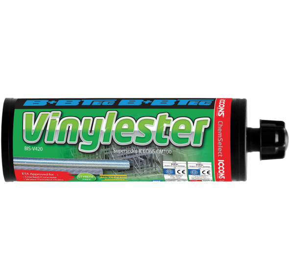 BIS-V Vinylester Injection Adhesive - with C1 Seismic Certification