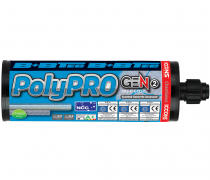 New BIS-P PolyPRO Gen2 Injection Adhesive