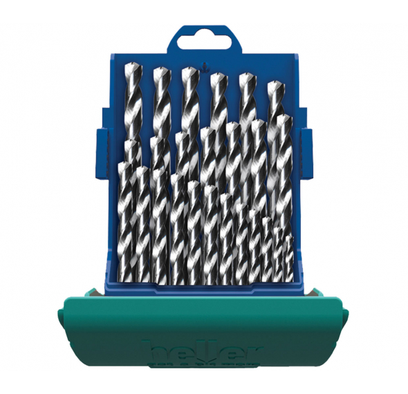 HSS-Co Cobalt Twist Drill Kit 25 Pce - For Stainless Steel and Metal