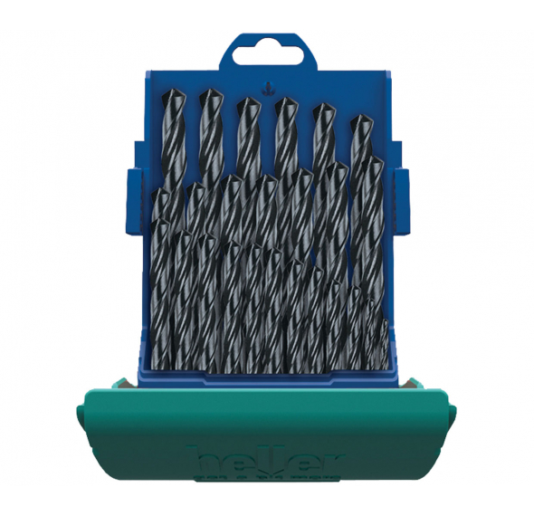 HSS-Reg Twist Drill Kit 25 Pce - For Metal