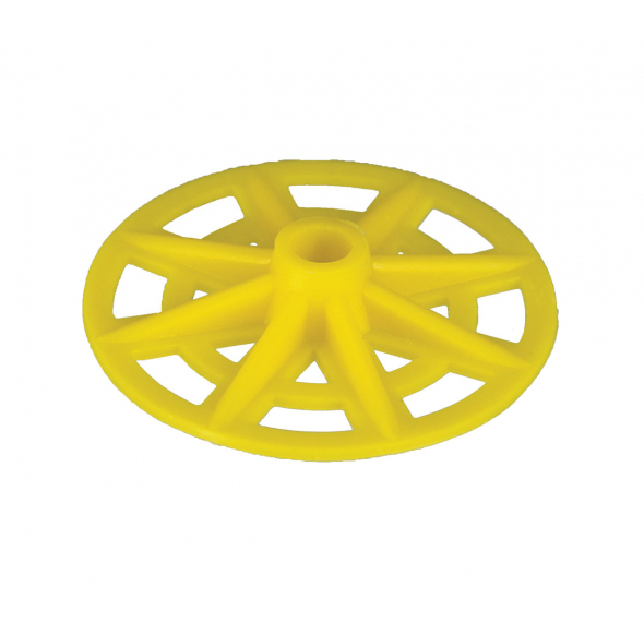 Nylon Insulation Washer - Yellow