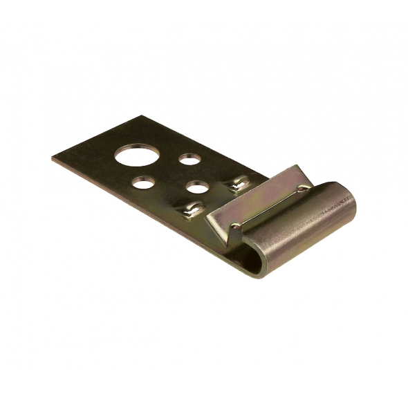 Steel Purlin Vertical Flange Clip - Zinc Yellow