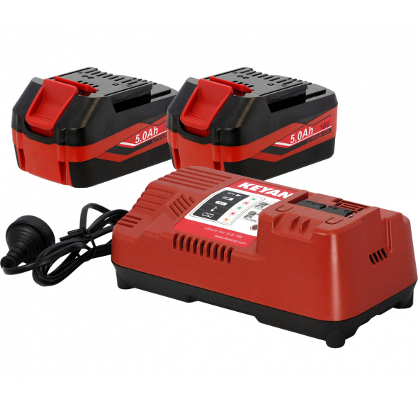 18V Keyang Lithium Ion Batteries and Chargers