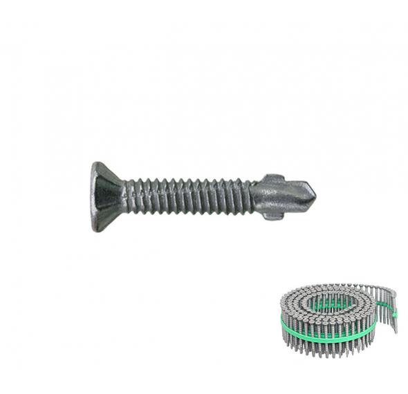 Self Drilling Wing Screw Class 3 (Coil) - Compatible with M-TFLVL41