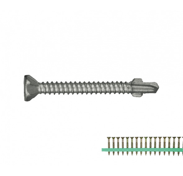 Self Drilling Wing Screw Class 3 (Strip) - Compatible with M-TCH7390K and M-TCH7392SFK