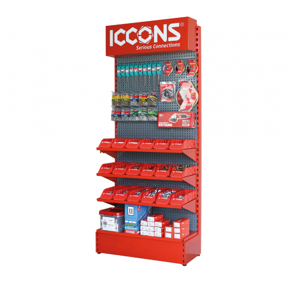 ICCONS - 900mm Wide Display Stand